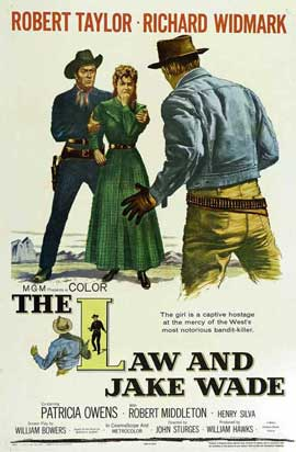 The Law and Jake Wade - 27 x 40 Movie Poster - Style D