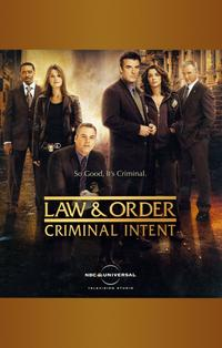 Law & Order: Criminal Intent - 11 x 17 TV Poster - Style A