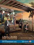 Law & Order: Los Angeles - 11 x 17 TV Poster - Style A