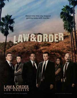 Law & Order: Los Angeles - 11 x 14 TV Poster - Style A