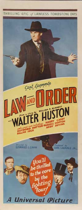 Law and Order - 14 x 36 Movie Poster - Insert Style A