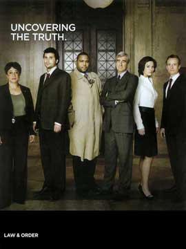 Law & Order - 11 x 14 TV Poster - Style A