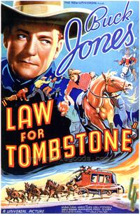 Law for Tombstone - 43 x 62 Movie Poster - Bus Shelter Style A