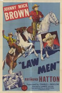 Law Men - 11 x 17 Movie Poster - Style A