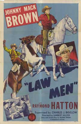 Law Men - 27 x 40 Movie Poster - Style A