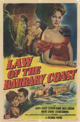 Law of the Barbary Coast - 27 x 40 Movie Poster - Style A