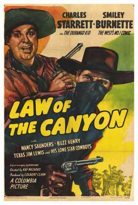 Law of the Canyon - 27 x 40 Movie Poster - Style A