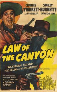 Law of the Canyon - 43 x 62 Movie Poster - Bus Shelter Style A