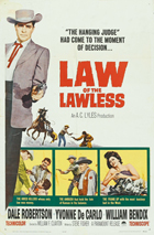 Law of the Lawless - 27 x 40 Movie Poster - Style A