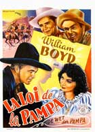 Law of the Pampas - 11 x 17 Movie Poster - Belgian Style A