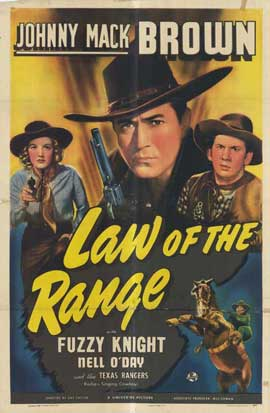Law of the Range - 11 x 17 Movie Poster - Style A