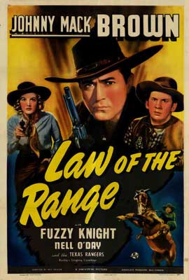 Law of the Range - 27 x 40 Movie Poster - Style A