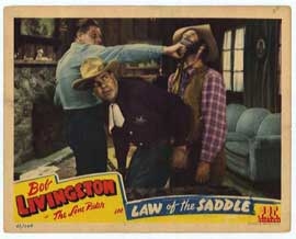 Law of the Saddle - 11 x 14 Movie Poster - Style A