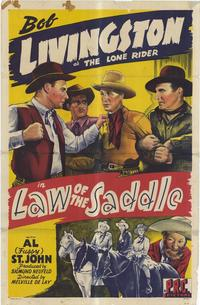 Law of the Saddle - 11 x 17 Movie Poster - Style A