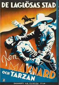 Lawless Breed - 27 x 40 Movie Poster - Swedish Style A