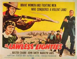 Lawless Eighties - 11 x 14 Movie Poster - Style B