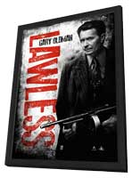 Lawless - 27 x 40 Movie Poster - Style C - in Deluxe Wood Frame