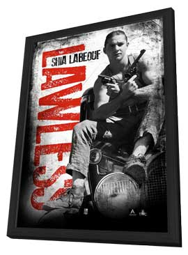 Lawless - 11 x 17 Movie Poster - Style D - in Deluxe Wood Frame
