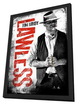 Lawless - 27 x 40 Movie Poster - Style F - in Deluxe Wood Frame