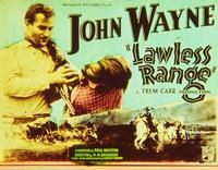 Lawless Range - 11 x 14 Movie Poster - Style A