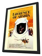 Lawrence of Arabia - 11 x 17 Movie Poster - Style A - in Deluxe Wood Frame