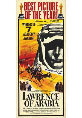 Lawrence of Arabia - 11 x 17 Movie Poster - Style B