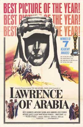 Lawrence of Arabia - 11 x 17 Movie Poster - Style C