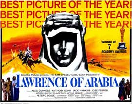 Lawrence of Arabia - 11 x 17 Movie Poster - Style D
