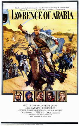 Lawrence of Arabia - 11 x 17 Movie Poster - Style E