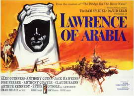 Lawrence of Arabia - 11 x 17 Movie Poster - Style F