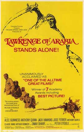 Lawrence of Arabia - 11 x 17 Movie Poster - Style G