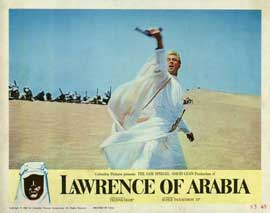 Lawrence of Arabia - 11 x 14 Movie Poster - Style F