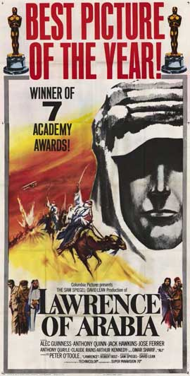 Lawrence of Arabia - 11 x 17 Movie Poster - Style H