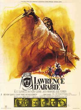 Lawrence of Arabia - 11 x 17 Movie Poster - French Style B