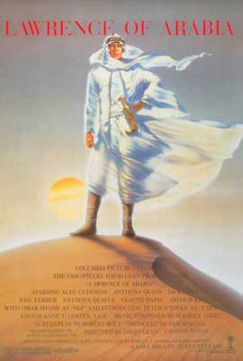 Lawrence of Arabia - 27 x 40 Movie Poster - Style A