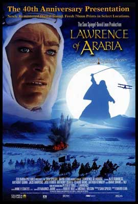 Lawrence of Arabia - 27 x 40 Movie Poster