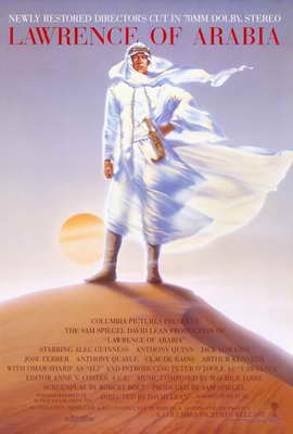 Lawrence of Arabia - 27 x 40 Movie Poster - Style C