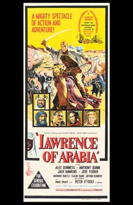 Lawrence of Arabia - 11 x 17 Movie Poster - Style J