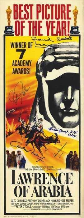 Lawrence of Arabia - 14 x 36 Movie Poster - Insert Style A