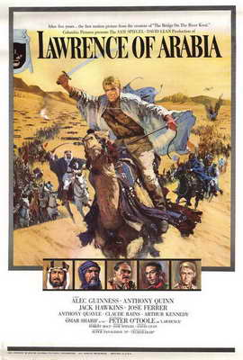Lawrence of Arabia - 27 x 40 Movie Poster - Style B