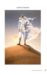 Lawrence of Arabia - 11 x 17 Movie Poster - French Style A
