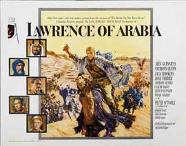 Lawrence of Arabia - 11 x 17 Movie Poster - Style M