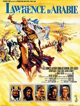 Lawrence of Arabia - 27 x 40 Movie Poster - French Style C