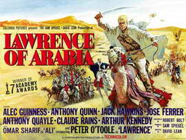Lawrence of Arabia - 30 x 40 Movie Poster UK - Style A