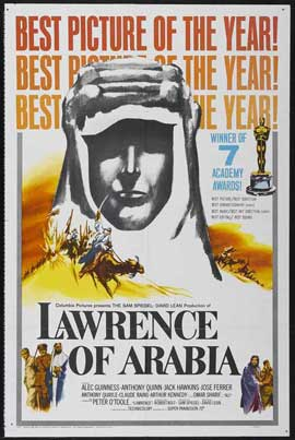Lawrence of Arabia - 11 x 17 Movie Poster - Style N