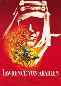 Lawrence of Arabia - 43 x 62 Movie Poster - German Style A