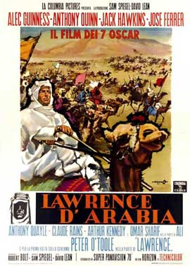 Lawrence of Arabia - 11 x 17 Movie Poster - Italian Style A