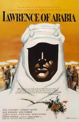 Lawrence of Arabia - 11 x 17 Movie Poster - Style O