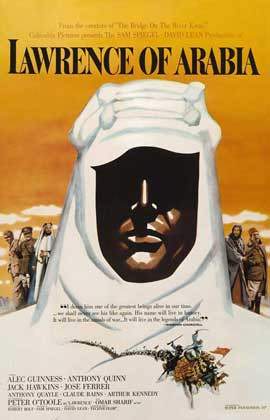 Lawrence of Arabia - 27 x 40 Movie Poster - Style O