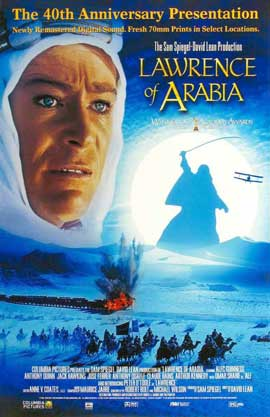 Lawrence of Arabia - 11 x 17 Movie Poster - Style P